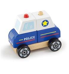 """Іграшка Viga Toys """"Поліцейська машина"""" (50201)"""