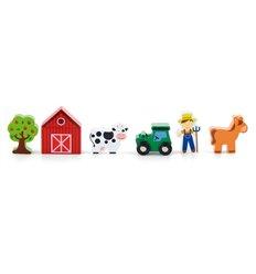 """Дод. набір до залізниці Viga Toys """"Ферма"""" (50812)"""
