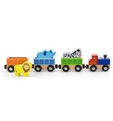 """Дод. набір до залізниці Viga Toys """"Потяг з тваринами"""" (50822)"""
