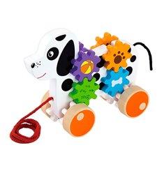 """Іграшка-каталка Viga Toys """"Цуценя"""" (50977)"""