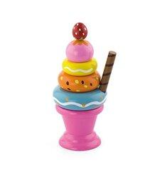 """Ігровий набір Viga Toys """"Морозиво з фруктами. Полуничка"""" (51321)"""