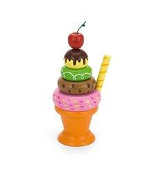 """Ігровий набір Viga Toys """"Морозиво з фруктами. Вишенька"""" (51322)"""