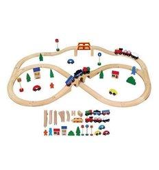 "Іграшка Viga Toys ""Залізниця"", 49 деталей (56304)"