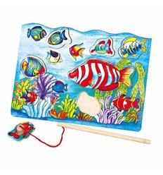 """Пазл магнітний Viga Toys """"Риболовля"""" (58423)"""