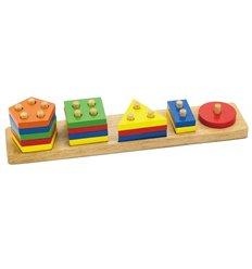 """Сортер Viga Toys """"Геометричні фігури"""" (58558)"""