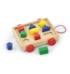 "Сортер Viga Toys ""Візок з блоками"" (58583)"