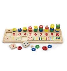 """Іграшка Viga Toys """"Цифри і рахування"""" (59072)"""