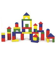 Набір будівельних блоків Viga Toys 50 шт., 3,5 см (59542)
