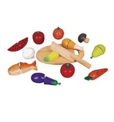 """Ігровий набір Viga Toys """"Продукти"""" (59560)"""