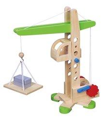 """Іграшка Viga Toys """"Підйомний кран"""" (59698)"""
