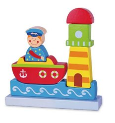 """Магнітний пазл Viga Toys """"Море"""" (59704)"""