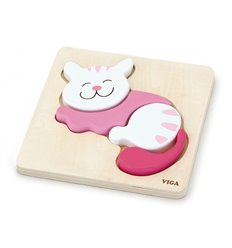 """Пазл Viga Toys """"Кішка"""" (59930)"""