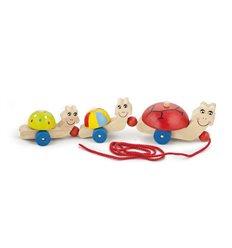 "Іграшка-каталка Viga Toys ""Черепашки"" (59949)"