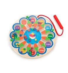 """Розвиваюча іграшка Viga Toys Магнітний лабіринт """"Годинник"""" (59980)"""