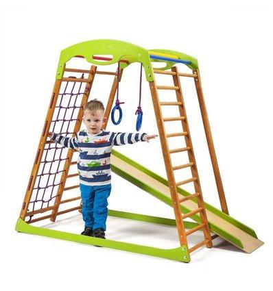 Дитячий спортивний комплекс для дому SportBaby BabyWood