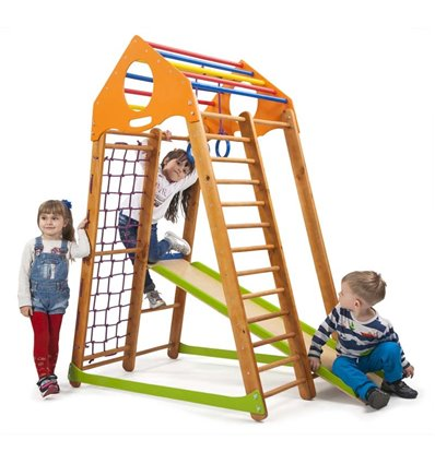 Дитячий спортивний комплекс для дому SportBaby BambinoWood