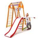 Дитячий спортивний комплекс для дому SportBaby BambinoWood Plus 1-1