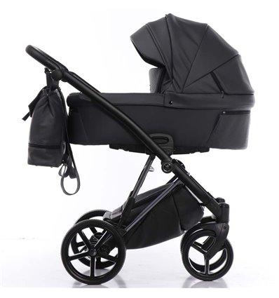 Дитяча коляска 2 в 1 Tako Artemo 05 Graphite Еко-шкіра