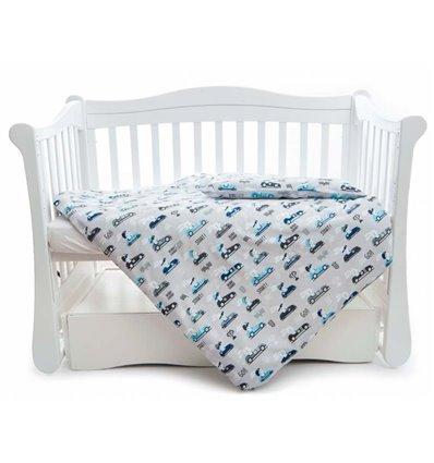 Дитяча змінна постіль Twins Comfort Line C-050 Турбо сіра