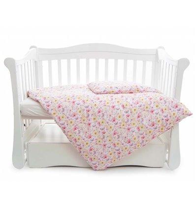 Дитяча змінна постіль Twins Comfort Line C-052 Квіточка рожева