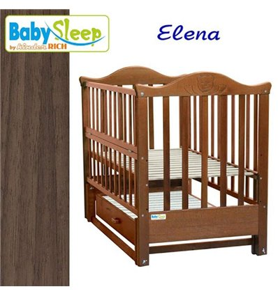 Дитяче ліжко Baby Sleep Elena BKP-S-B Горіх