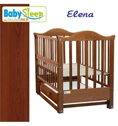 Дитяче ліжко Baby Sleep Elena BKP-S-B Махагон