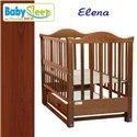 Дитяче ліжко Baby Sleep Elena BKP-S-B з шухлядою Махагон