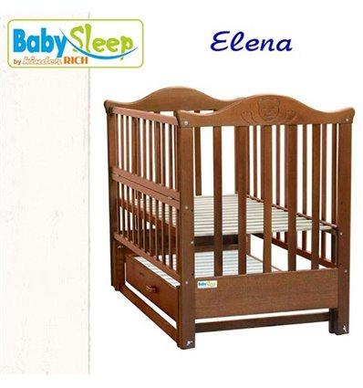 Дитяче ліжко Baby Sleep Elena BKP-S-B Білий