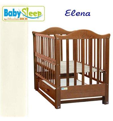 Дитяче ліжко Baby Sleep Elena BKP-S-B Слонова кістка