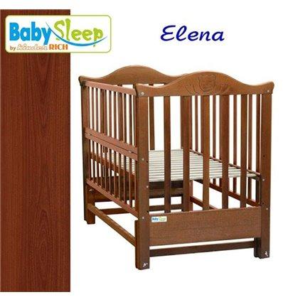Дитяче ліжко Baby Sleep Elena BKP-S-0 Махагон