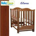Дитяче ліжко Baby Sleep Elena BKP-S-0 без шухляди Махагон