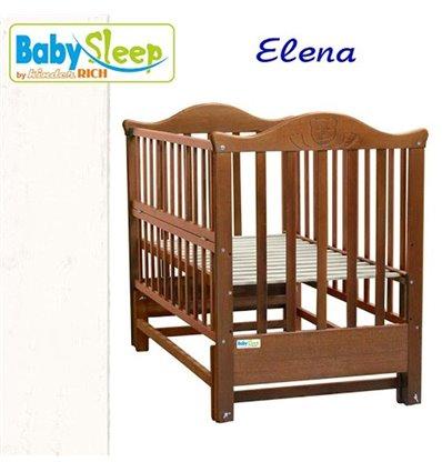 Дитяче ліжко Baby Sleep Elena BKP-S-0 Білий