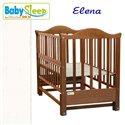 Дитяче ліжко Baby Sleep Elena BKP-S-0 без шухляди Білий