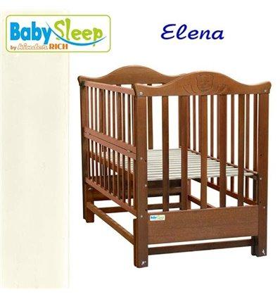 Дитяче ліжко Baby Sleep Elena BKP-S-0 Слонова кістка