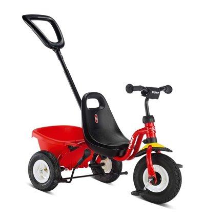 Велосипед триколісний Puky Ceety Air червоний