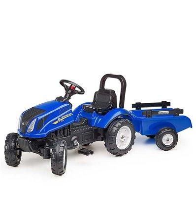 Трактор педальний з причіпом Falk 3080AB New Holland