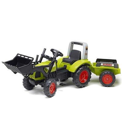 Трактор педальний з причіпом і ковшом Falk 1040AM CLAAS ARION