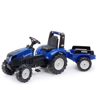 Трактор педальний з причіпом Falk 3090B New Holland