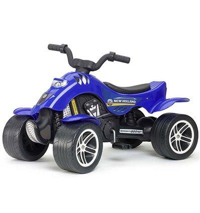 Квадроцикл педальний Falk 611 New Holland синій