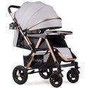 Дитяча прогулянкова коляска Ninos Maxi Light Grey