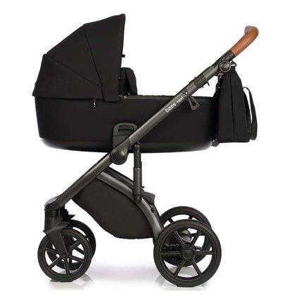 Дитяча коляска 2 в 1 Roan Next 01 Black