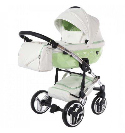 Дитяча коляска 2 в 1 Junama Candy 04 салатова
