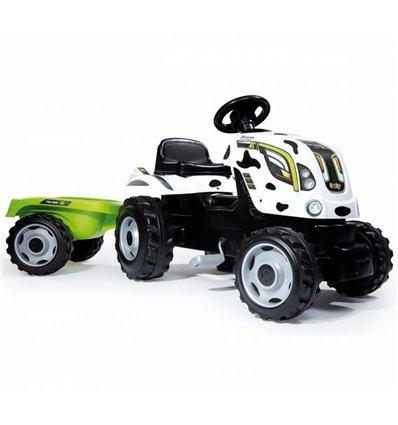 Трактор педальний з причіпом FARMER XL Smoby 710113