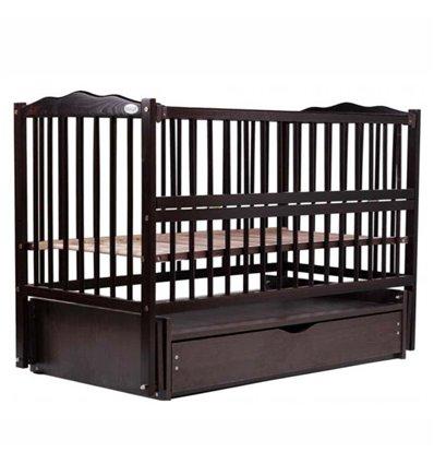 Дитяче ліжечко Дубик-М Веселка венге