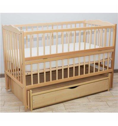Дитяче ліжечко Дубик-М Веселка натуральний