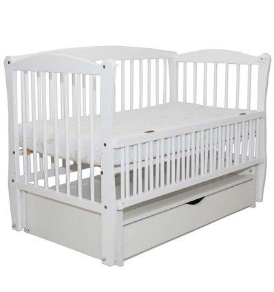 Дитяче ліжечко Дубик-М Еліт 2 біле