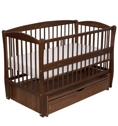 Дитяче ліжечко Дубик-М Еліт 2 горіх