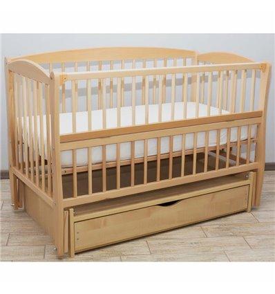 Дитяче ліжечко Дубик-М Еліт 2 натуральний