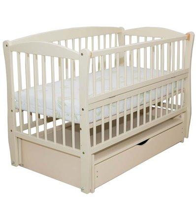 Дитяче ліжечко Дубик-М Еліт 2 слонова кістка
