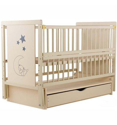 Дитяче ліжечко Дубик-М Ведмедик слонова кістка